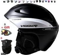 White Authentic Adjustable Professional Ski Cycling Helmets Racing Ultralight Snowboard Mountain Bike Motorcycle Moto Helmet