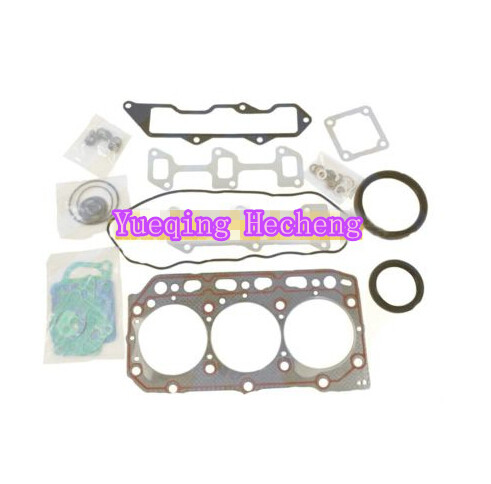 New Full Gasket Kit YM729150-92910 With Head Gasket for 3TNE88 3TNV88 Free Shipping new full gasket kit z 5 87814 206 0 for 3lb1 engine mini excavator free shipping
