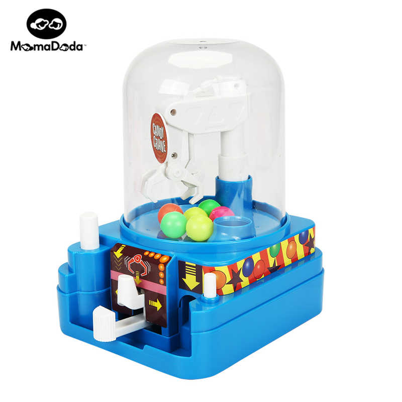 Candy Grabber Machine Mini Music Slot Game Vending Funny Tricks Claw Game  Toy Grabber Crane Toys For Children Birthday Gifts