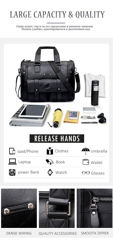 HTB1J8DGKb1YBuNjSszeq6yblFXa9 Scione Men Thicken PU Leather Briefcase Large Capacity Laptop Business Messenger Shoulder Bag High Quality Travel Office Handbag