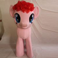 Ohlees Actual Picture My Little Pony Mascot Costumes Fluttershy Pinkie Pie Horse Adult Halloween Cartoon Character
