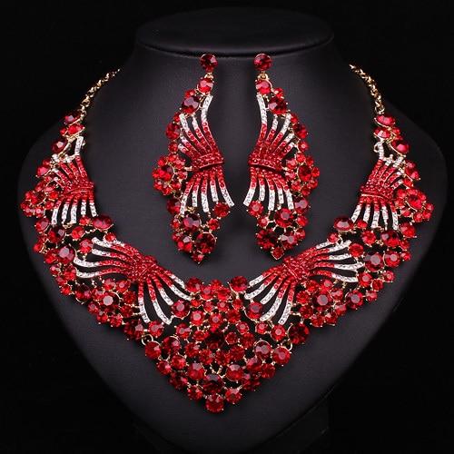 Aliexpress Com Buy New Fashion Necklace Earrings Bridal: Aliexpress.com : Buy Elegant Fashion Bridal Jewelry Sets