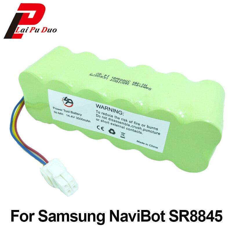 14.4 v 3500 mah Rechargeable Batterie pour Samsung NaviBot: SR8845 SR8840 VCR8730 SR8990 VCR8845 SR8F30 SR8730 SR8750 Aspirateur