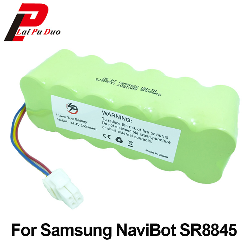 цена 14.4V 3500mAh Rechargeable Battery for Samsung NaviBot: SR8845 SR8840 VCR8730 SR8990 VCR8845 SR8F30 SR8730 SR8750 Vacuum Cleaner