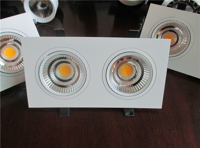 10PCS Hot Seller DHL FREE 15W 24W COB LED Ceiling Down Light AC110V-240V Cool/Warm White LED Recessed Downlight Lamp 100 LM/W free shipping via dhl led panel light 600x600 48w high brightness led ceiling light white warm white light