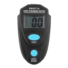 EM2271A Mini Thickness Gauges Digital Car Paint Coating Thickness Gauge gy910 Pintura Automotiva Thick Auto Lak Tester Meter