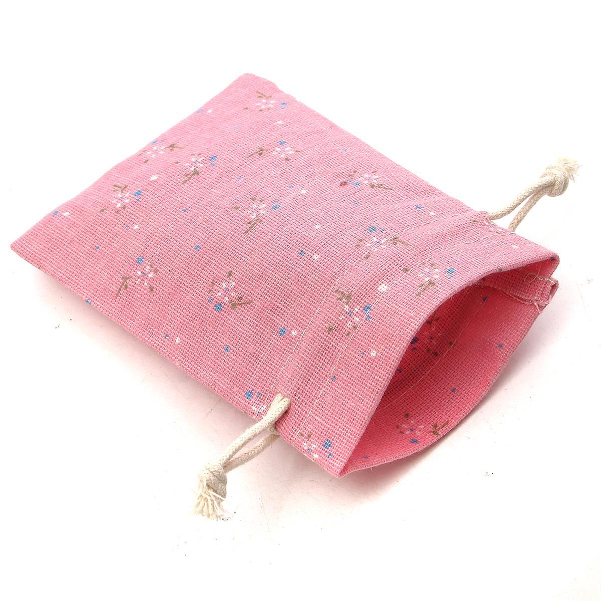 Aliexpress.com : Buy 10Pcs/lot Gift Bags Linen Cotton Wedding Party ...