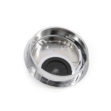 60mm Zinc Alloy Desk Table Grommet Cable Cord Hole Cover for Home Office QJ888