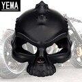 El cráneo casco de la motocicleta, masculino y femenino, edición limitada esqueleto casco, para el verano que usa creativa scary cascos
