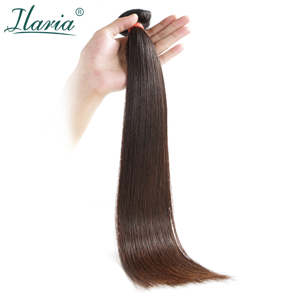 ILARIA HAIR 8A Mink Brazilian Virgin Straight Hair 1 Piece Natural Color 08 36 Unprocessed Brazilian