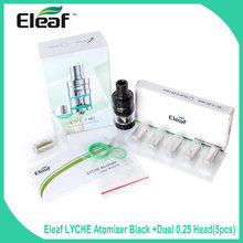 Big sale!!! e cigarette Original Eleaf LYCHE Atomizer w/ 5pcs dual coil gift or 1 RBA head gift Side filling Easy Use Best Price(China)