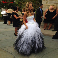 Белый и черный для матери невесты платья для свадеб Милая выпускного вечера жениха крестная платья