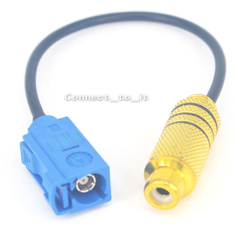 GPS Antenna Cable Fakra C Jack Female to RCA female Pigtail RG174 15cm matti 7 злаков 400 г