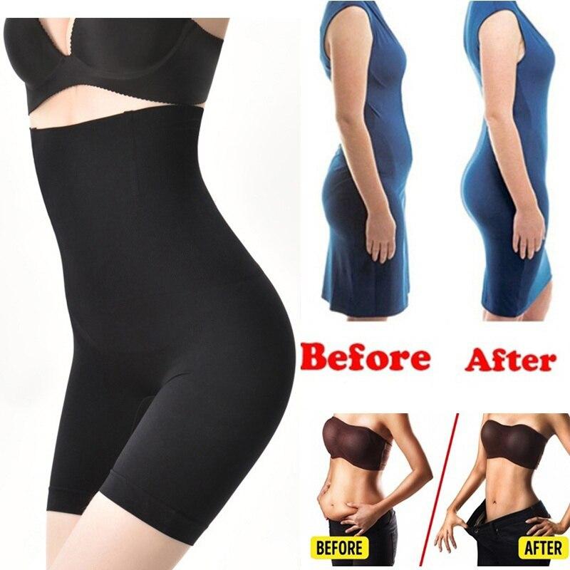 Женское нижнее белье безопасности брюки модные средства ухода за кожей Shaper эффективные для мужчин и женщин нейлон Высокая талия Корректирующее белье для похудения брюки для девочек шорты