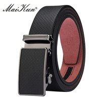 Designer Automatic Buckle Leather Belts For Men Luxury Genuine Leather Men Belt For Fashion Jeans Pants