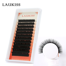 12Rows Eyelash Extension Natural False Lashes Faux Mink Professional Quality Eye Lash Extensions Material for