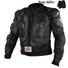 Newest Motorcycles Armor Protection Motocross Jacket Protector Moto Cross Chest Back Protector ProtectiVe Gear gloves(China)