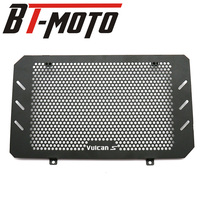 Black Motorcycle Accessories Radiator Guard Protector Grille Grill Cover For Kawasaki VULCAN S 2015 2018 2017 2016 VULCAN 650