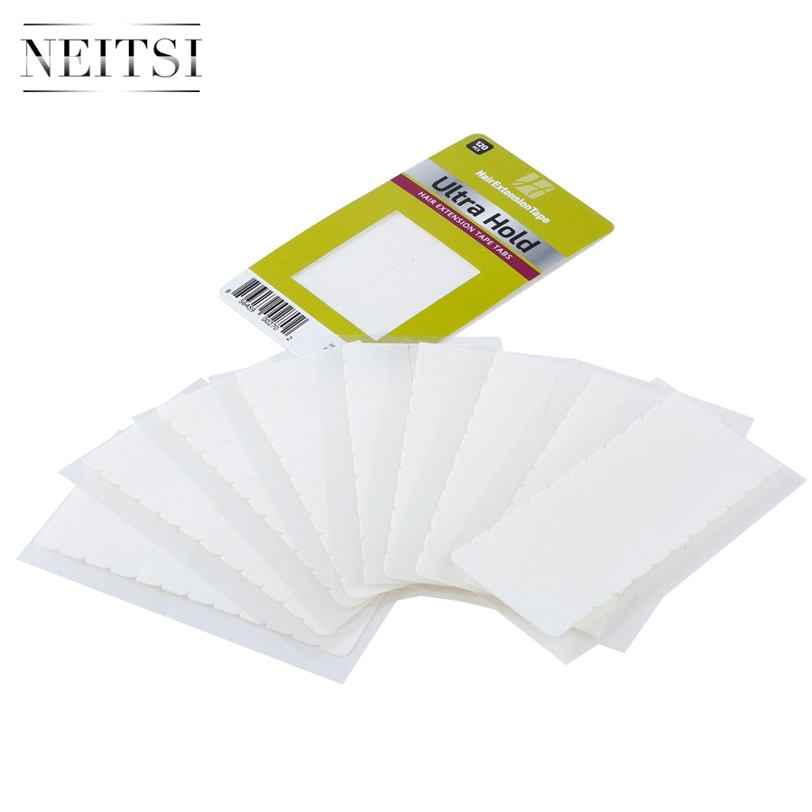 Image 4 - Neitsi 120 Tabs Lace Front/DUO PRO/Ultra Hold Pre cut Double Sided Tape USA Walker Tape For Tape in Hair ExtensionsAdhesives   -