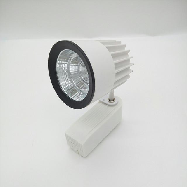 4 pcs COB 15 W 1000lm AC85-265V de Teto de alumínio Levou Faixa de luz Pista iluminação Da Trilha Trilho Ferroviário Local