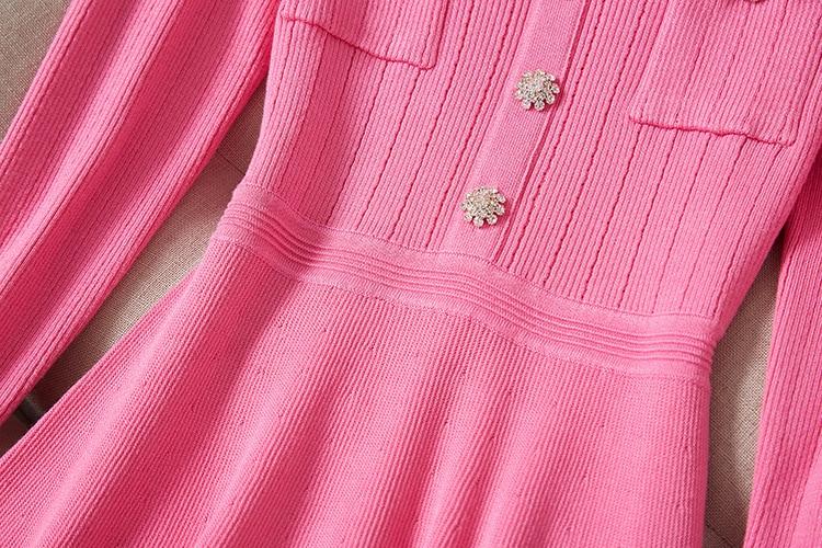 Longues Mince Robe Manches Marque À Femmes Haut Tricoté Printemps Mode Luxe Kenvy Gamme De Élégant Diamant vRPpqwxwZ