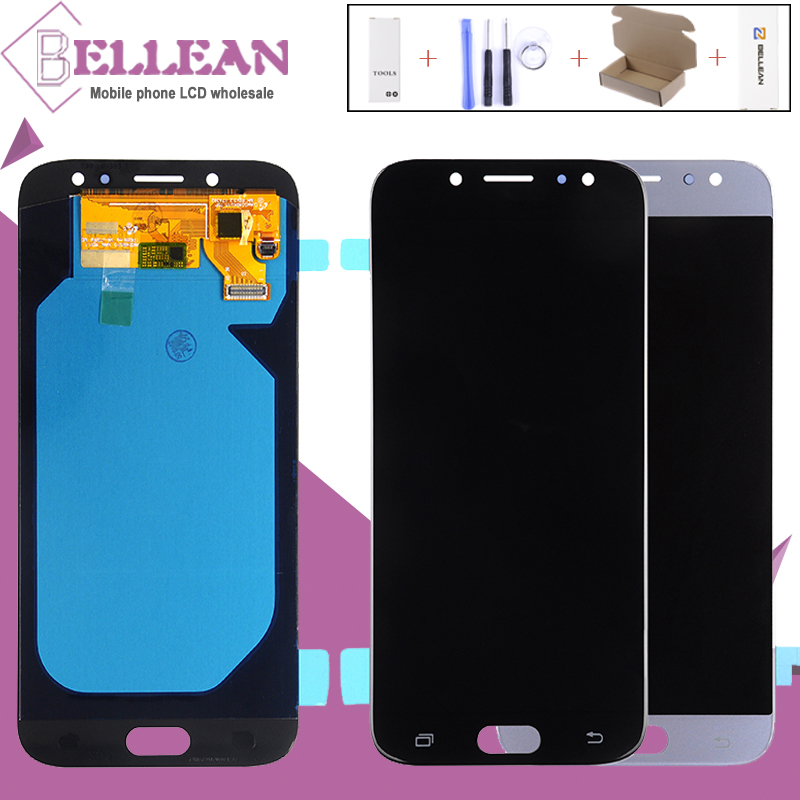 HH OLED J7 Pro Lcd For Samsung Galaxy J730 LCD J7Pro J730 J7 2017 Display Touch Panel Screen Digitizer Assembly Free Shipping