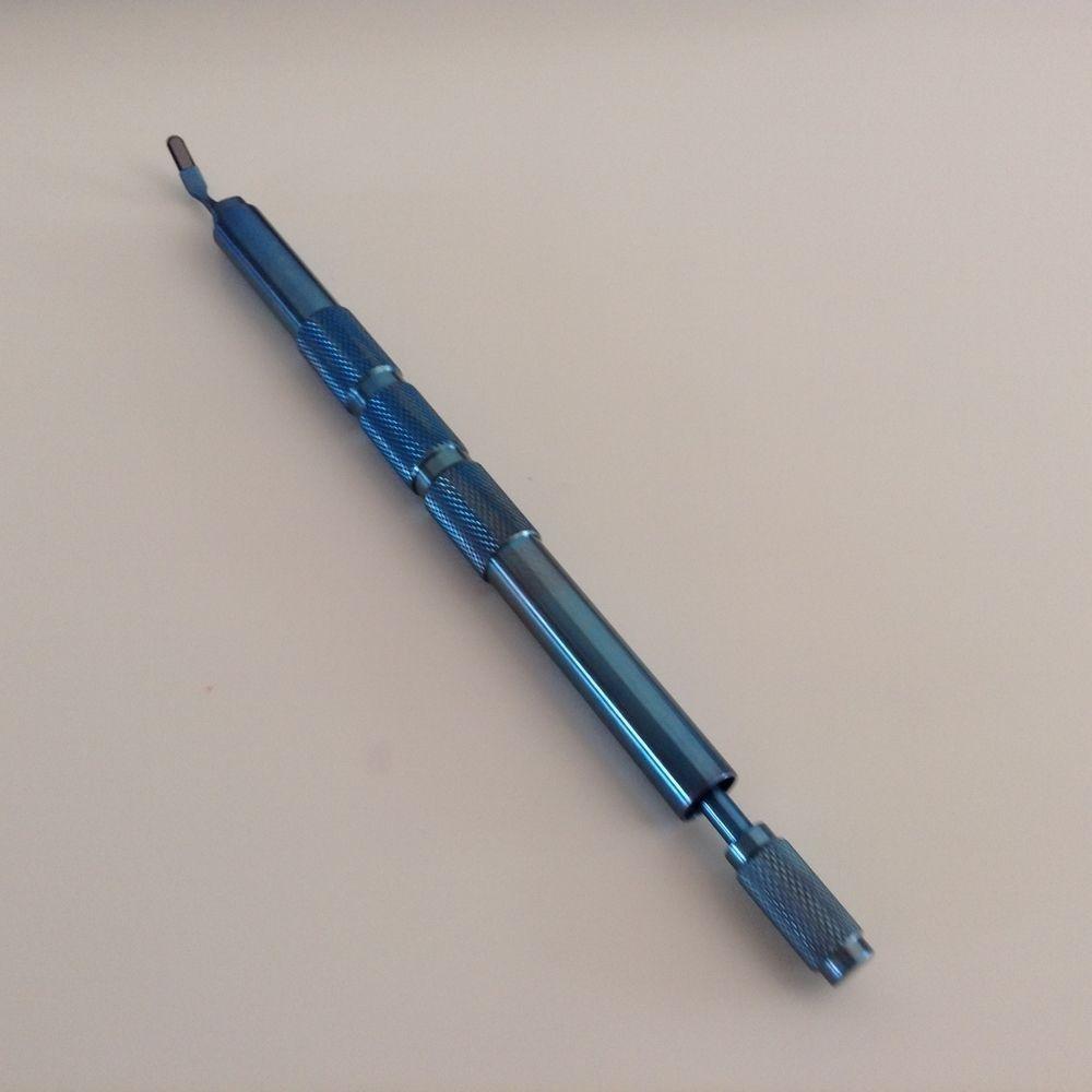 1PC Best Black Diamond Cresent Blade 1.5mm ophthalmic eye instrument1PC Best Black Diamond Cresent Blade 1.5mm ophthalmic eye instrument