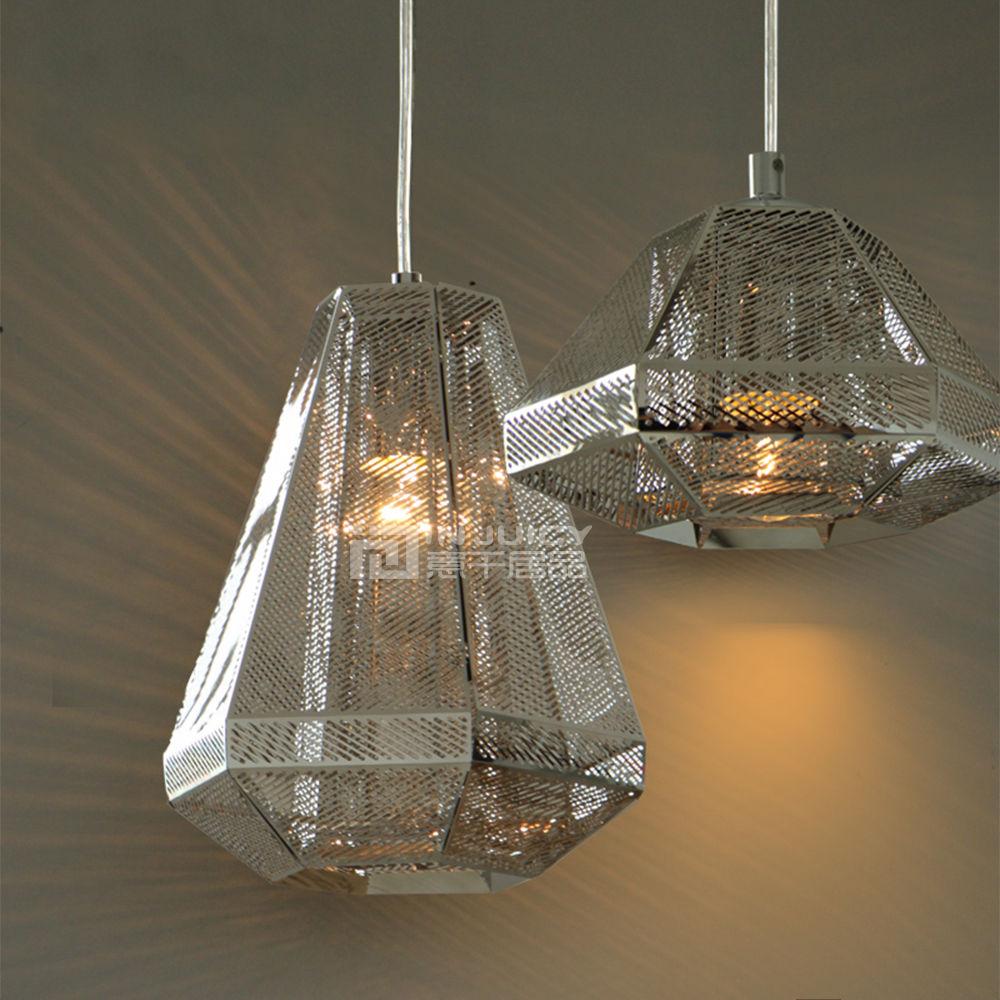 Nordic Modern Stainless Steel Bedroom Loft Bar Corridor Cafe Store Ceiling Light Chandelier Lamp Droplight Lighting Gift