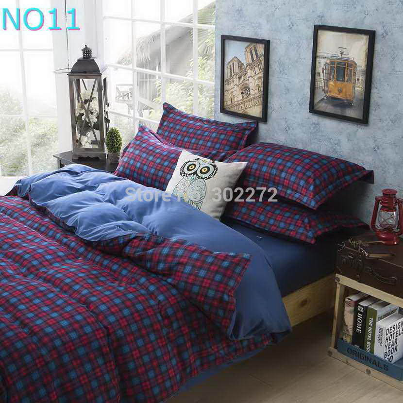Красивые Облака Стиль хлопковый комплект постельного белья, постельное белье набор 3/постельного белья из 4 предметов, комплект с надписью «розовый», цвет бел