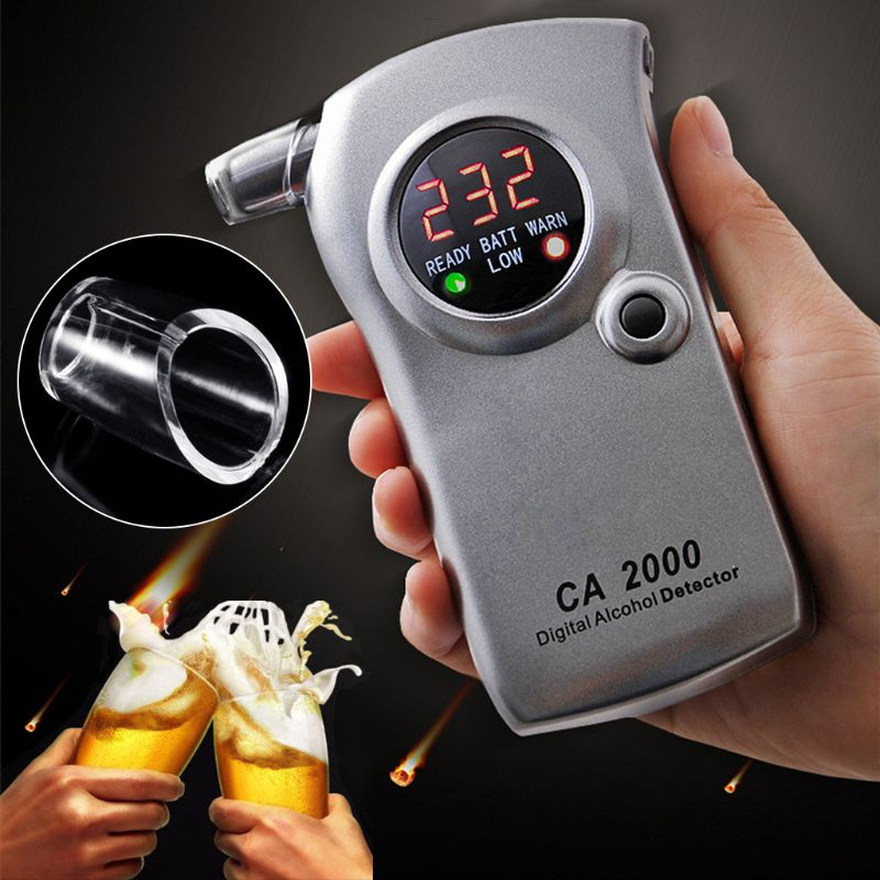 Breath Alcohol Tester Breathalyzer Mouthpieces Blowing Nozzle For Keychain Alcohol Tester Mouthpieces