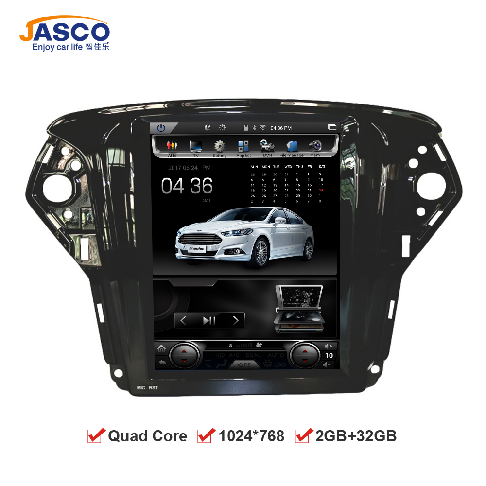 10 4 vertical screen 1024 768 android car dvd gps navigation radio player for ford mondeo 2009. Black Bedroom Furniture Sets. Home Design Ideas