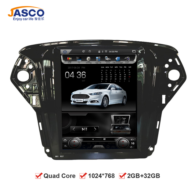 """10.4"""" Vertical Screen 1024*768 Android Car DVD GPS Navigation Radio Player for Ford Mondeo 2009 2010 2011 RAM 2GB  32G Quad Core"""
