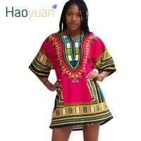 Dashiki Dress 2016 African Woman Traditional Print Dashiki Short Sleeve Bazin Riche T Shirt Clothing African