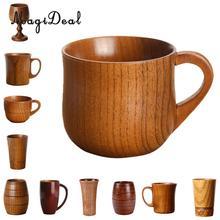 MagiDeal 11 видов стилей дерево ююба ручной работы воды кофейная кружка чашка чай пиво сок молоко кружки напиток чашки-подарок