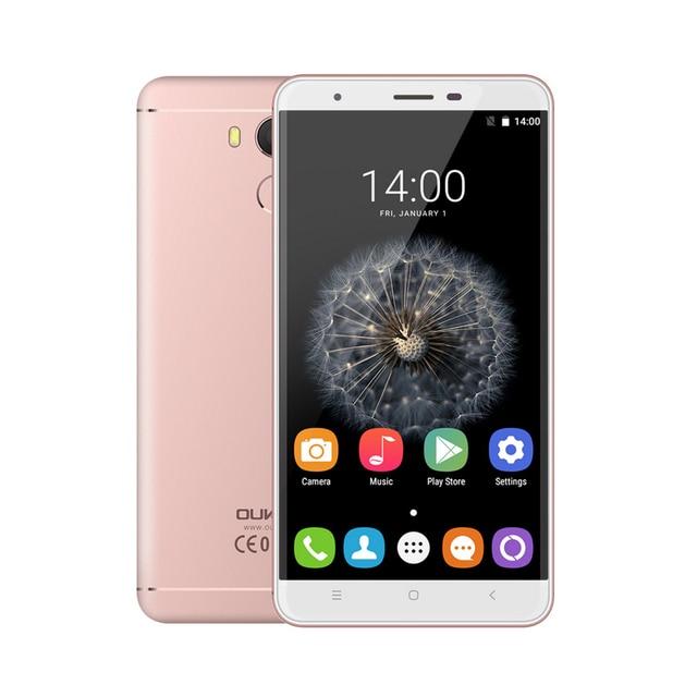 Oukitel U15 Pro Smartphone MT6753 Octa Core 5.5 inch HD 3G RAM 32G ROM Android 6.0 Cellphone FingerPrint 4G FDD LTE Mobile Phone