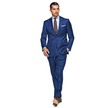 itlay brand VBC wool navy blue single button 2 nortch lapel man's business formal suit, custom tailor made man's MTM suit