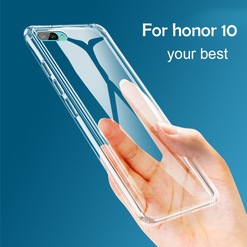 Soft Case For Huawei Honor 10 Case TPU Silicon Transparent Clear Fitted Bumper Back Cover Case For Huawei Honor V10 Honor 9 Case