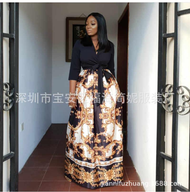 Afrikanische kleider für frauen afrikanische kleidung afrika kleid Langen rock Dashiki damen kleidung ankara plus größe afrikanische frauen kleider