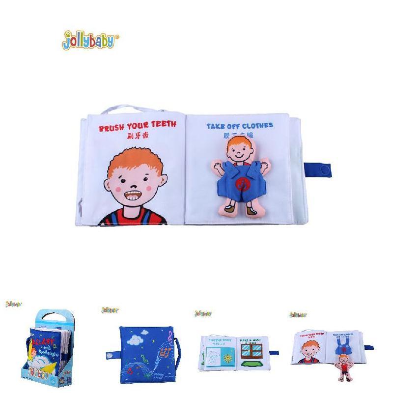 Раннее Образование головоломки ткань книги ребенок Колыбели ткани и с Бумага рано learningand игрушки развития книга FJ88
