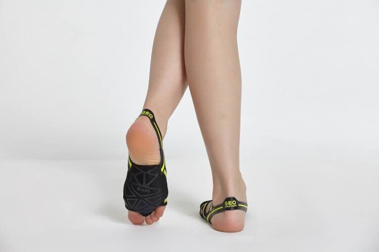 Envío Gratis zapatos de baile de Ballet para mujeres Yoga suela suave de silicona cómoda - 2