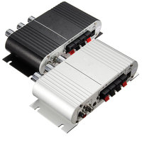 12V Mini Car Motorcycle Home Hi Fi Stereo Amplifier Amp For Mp3 For IPod PC DVD
