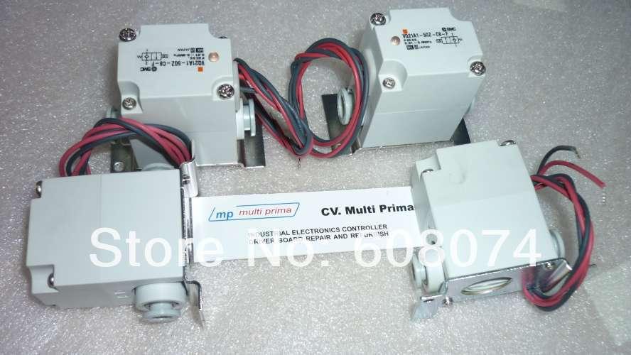 New SMC VQ Series 2 Port Solenoid Valve VQ21A1-5G-C8-F 24 VDC [sa] new japan smc solenoid valve syj5240 5g original authentic spot