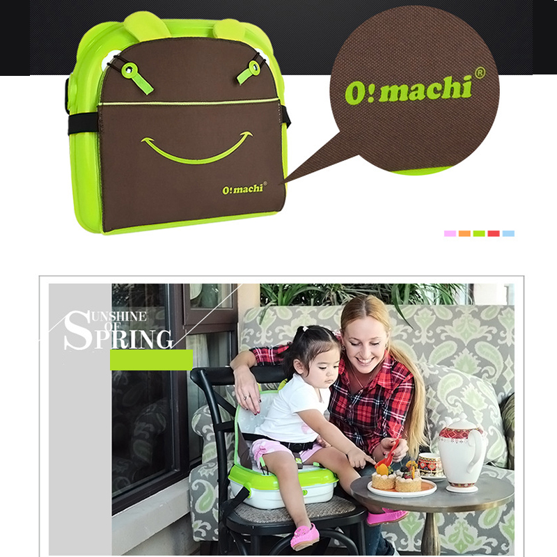 Baby Dining Lunch Feeding Booster Seat Maternity Baby Diaper Nappy Bag Multifunction Fashion Hobos Messenger Bags For Baby Care