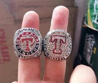 New Arrival Set 2010 2011 Texas Rangers Baseball Championship Ring As Gift And Collections For Fans