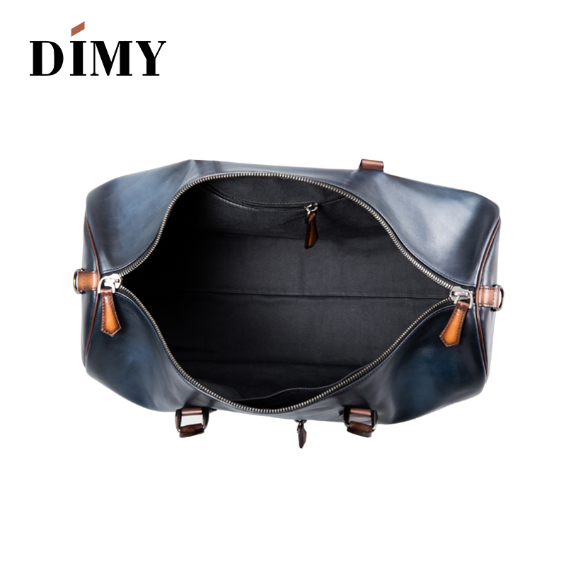 Hot sale Custom Italian Leather Holdalls Travel Duffle Bags handbags  Weekender Bags For Men Promotion Wholesale Luggage Suitcase-in Travel Bags  from Luggage ... d05ede22c5c3c