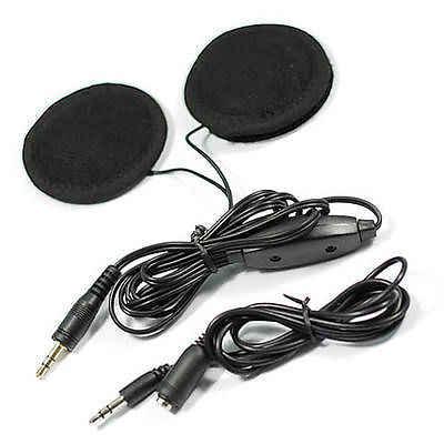 Helm sepeda motor Speaker Stereo untuk MP3 CD Radio