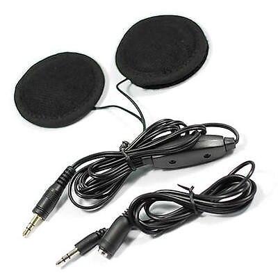 Motorcycle Helmet Speakers Stereo For MP3 CD Radio