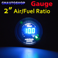"2"" 52mm AIR / FUEL RATIO Gauge Car Meter Blue LED Digital Display Automotive Gauges Black Shell for 12V Vehicle"