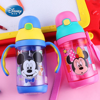 Baby Disney Cup With Handle Straw Cup Cup Leakproof Bottle Children Infant Gravity Ball Child