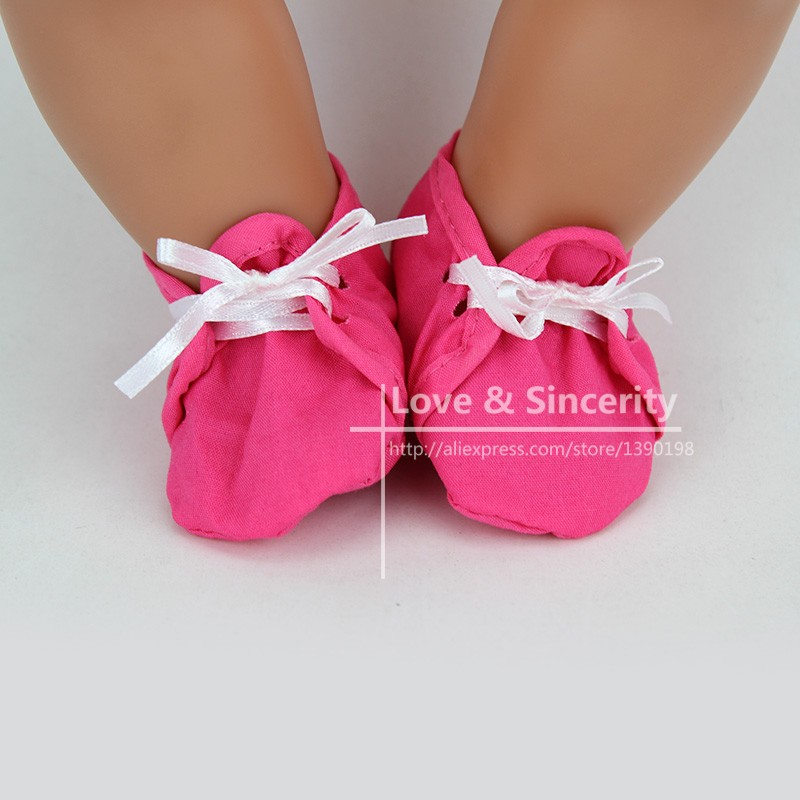Soft Shoes Fit For 43cm Baby Born Zapf